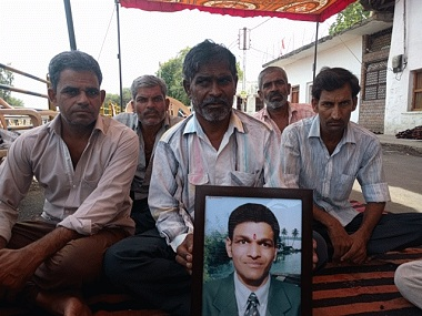 Abhishek Patidar's family mourn the 17-year-old's death. Firstpost/Debobrat Ghose