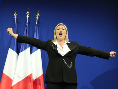 File image of France's far-right leader Marine Le Pen. Reuters