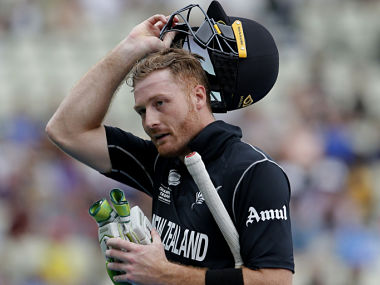 New Zealand's Martin Guptill will hope to score big in Friday's match. AFP