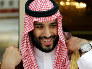 File image of Mohammed bin Salman. AP