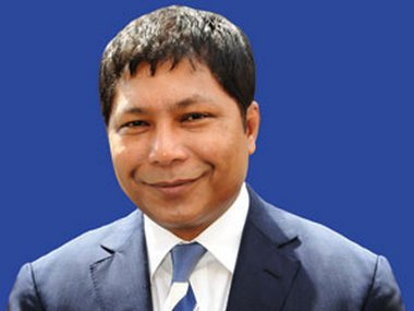 File image of Mukul Sangma. Image credit: Megipr.gov.in