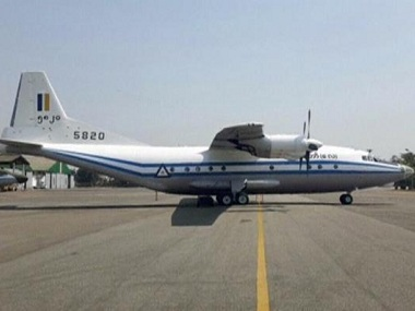 Photograph of a Y-8-200 F military aircraft. Reuters