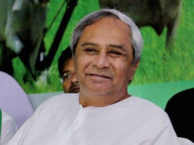 File image of Chief Minister Naveen Patnaik.
