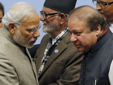 File image of Nawaz Shairf and Narendra Modi. Reuters