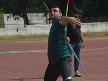 File image of Neeraj Chopra. JSW Sports