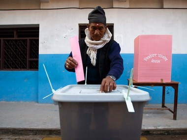 File image of the 2015 Nepal election. Reuters
