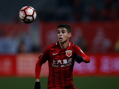 Oscar was signed by CSL club SIPG for an Asian-record 60 million euros. Reuters