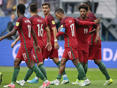 Portugal will hope to continue their undefeated run in Confederations Cup. AP
