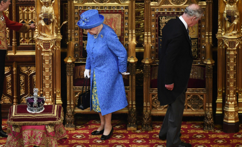 File image of Queen Elizabeth and her husband Prince Philip. AP