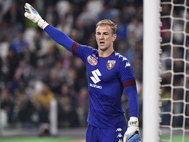 Football Soccer - Juventus v Torino - Italian Serie A - Juventus Stadium, Turin, Italy - 06/05/2017 Torino's goalkeeper Joe Hart during the match against Juventus. REUTERS/Giorgio Perottino - RTS15G9R