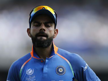 Britain Cricket - Pakistan v India - 2017 ICC Champions Trophy Final - The Oval - June 18, 2017 India's Virat Kohli Action Images via Reuters / Andrew Boyers Livepic EDITORIAL USE ONLY. - RTS17JR3