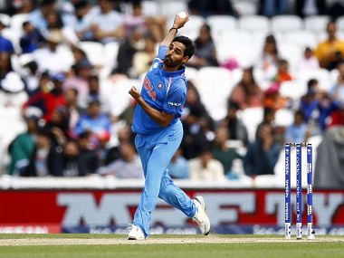 File image of India's Bhuvneshwar Kumar in action. Reuters.