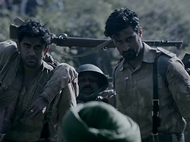 A still from the trailer of Raag Desh. Youtube screengrab