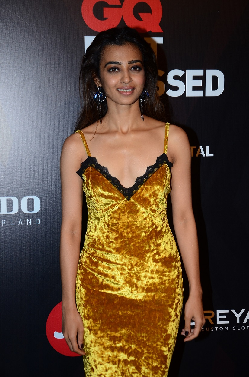 Radhika Apte. Image provided by GQ Best Dressed 2017