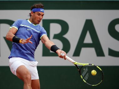Tennis - French Open - Roland Garros, Paris, France - June 7, 2017 Spain's Rafael Nadal in action during his quarter final match against Spain's Pablo Carreno Busta Reuters / Benoit Tessier - RTX39EEL
