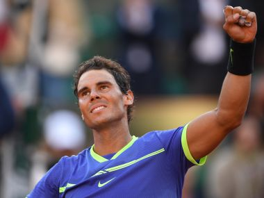 Rafael Nadal moved withing a step of a tenth French Open title. AFP