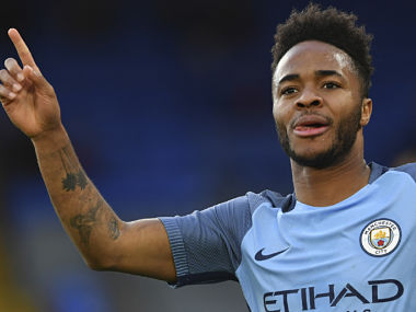 File image of Manchester City's midfielder Raheem Sterling. AFP