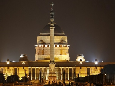 File image of the Rashtrapati Bhavan. Reuters