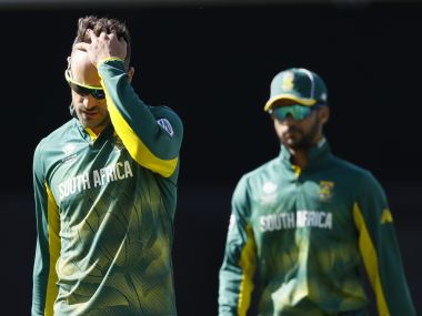 South Africa's performance meant their choker's tag is there to stay. AP