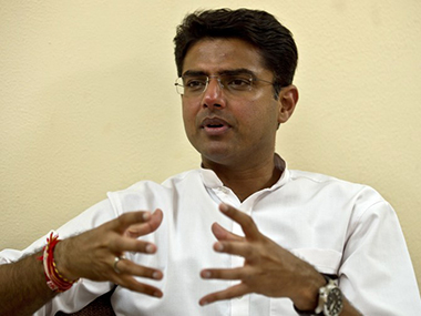 File image of Sachin Pilot. AFP