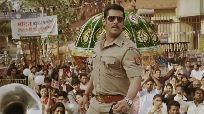 A still from Dabangg Courtesy: YouTube