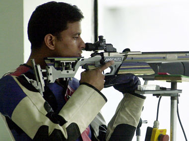 File image of India's Sanjeev Rajput. AFP