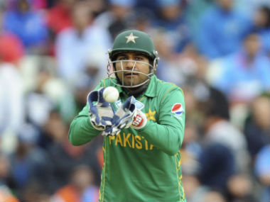 Sarfraz Ahmed led the team to their first Champions Trophy title. AP