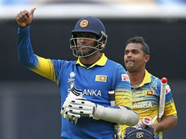 Sri Lanka paced their chase extremely well against India at The Oval on Thursday. AFP
