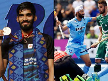 Srikanth Kidambi won the Indonesia Open and Indian hockey team defeated Pakistan. AP