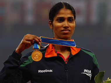 File image of India's Sudha Singh. Reuters