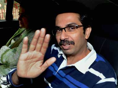 File image of Uddhav Thackeray. PTI
