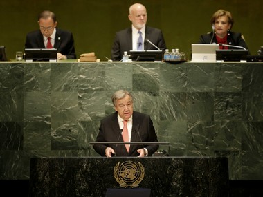 File image of United Nations Secretary-General Antonio Guterres. AP