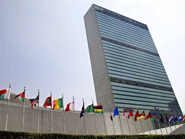 File image of the United Nations General Assembly building. AP