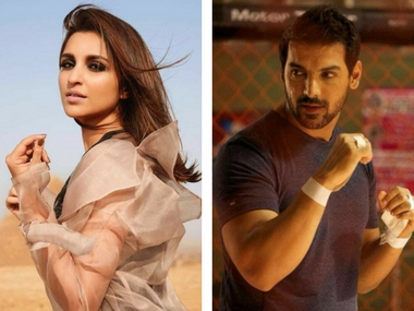 John Abraham and Parineeti Chopra Image Via Facebook