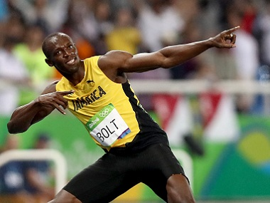 File image of sprinter Usain Bolt. Getty images