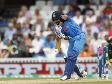 Virat Kohli in action against South Africa. Reuters