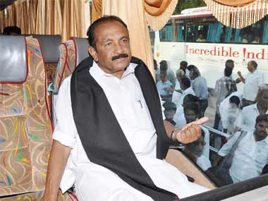 File image of Vaiko. Firstpost