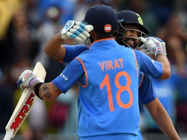 Virat Kohli and Rohit Sharma's authoritative approach floored Bangladesh bowlers. AP