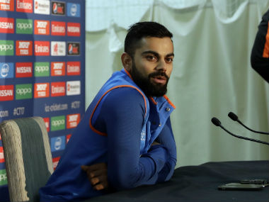 Virat Kohli played a captain's knock to guide India home. AP