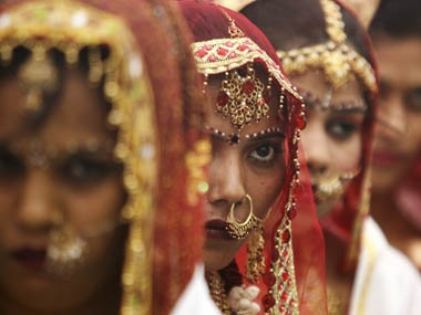 The death of a young married woman, Manjula Devak, has exposed a society which still views women only as bringers of dowry. Representational image. File Photo/Reuters