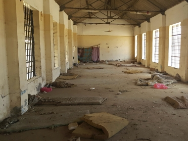 A deserted cell in the public section of Aden Central Prison in Aden, Yemen. AP