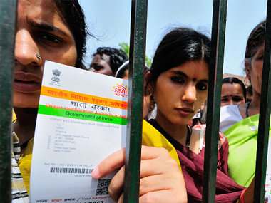 Aadhar. Representational image. Getty Images