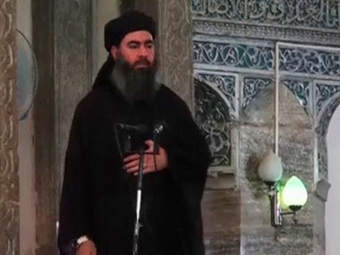 File image of Islamic State chief Abu Bakr al-Baghdadi. Reuters