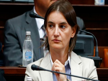 File image of Ana Brnabic. AP