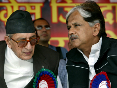File image of Congress's Anil Shastri(R). Reuters