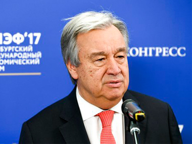 File image of Antonio Guterres. AP