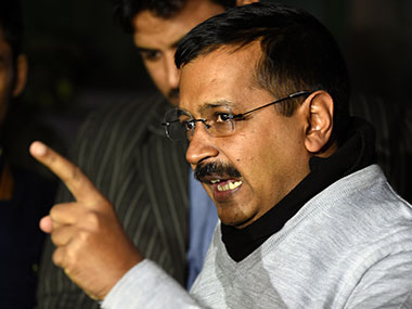 File image of Delhi chief minister Arvind Kejriwal AFP