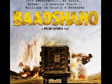 Baadshaho poster. Image from Twitter.