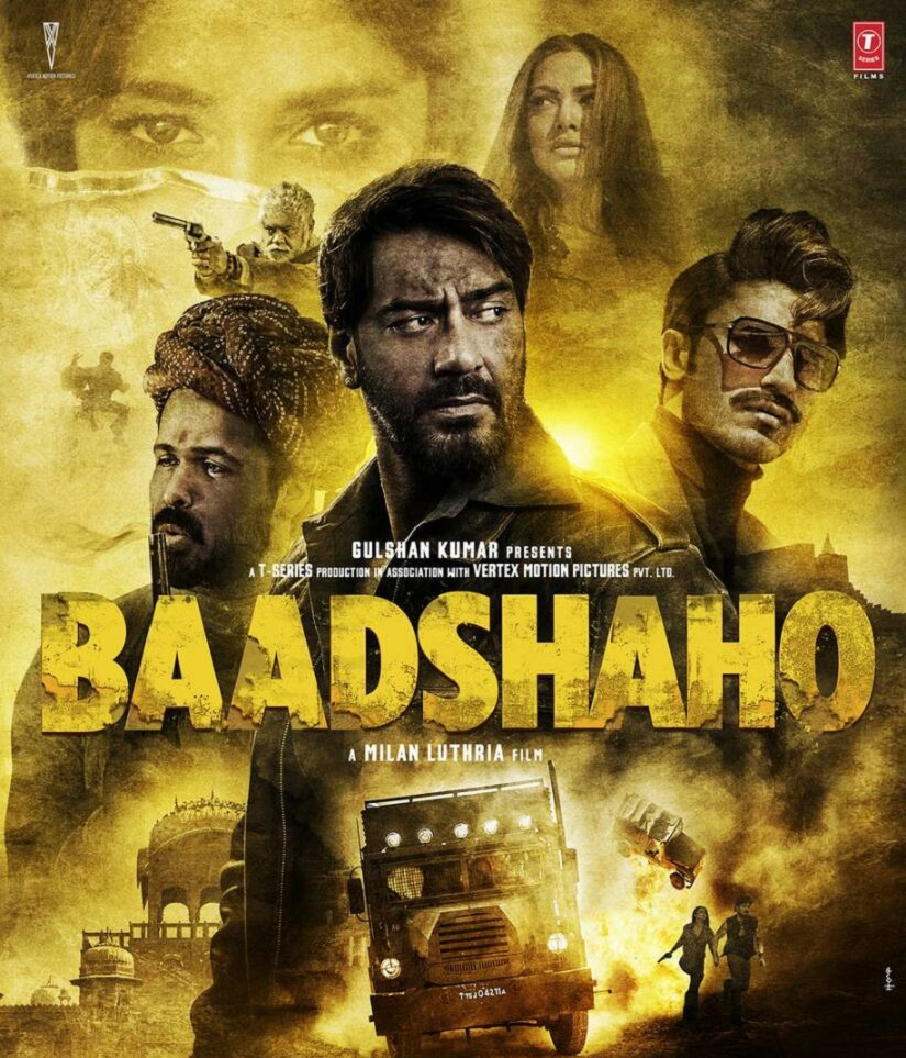 Poster of Baadshaho. Image via Twitter