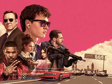 Poster of Baby Driver.